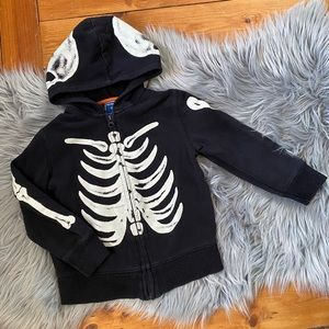 Old Navy Skull Zip Up